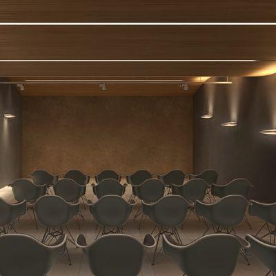 Sala dimostrativa - Acustica e Lighting