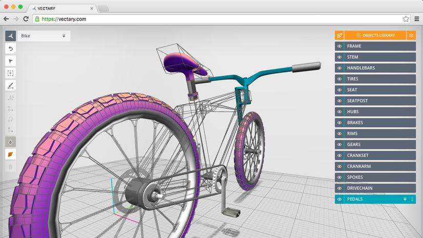 VECTARY - aperta la beta pubblica del nuovo modellatore 3D cloud based