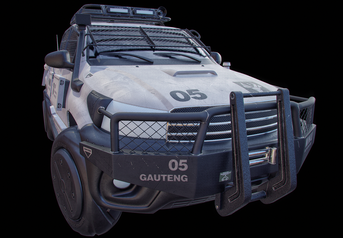 Toyota Hilux - High poly