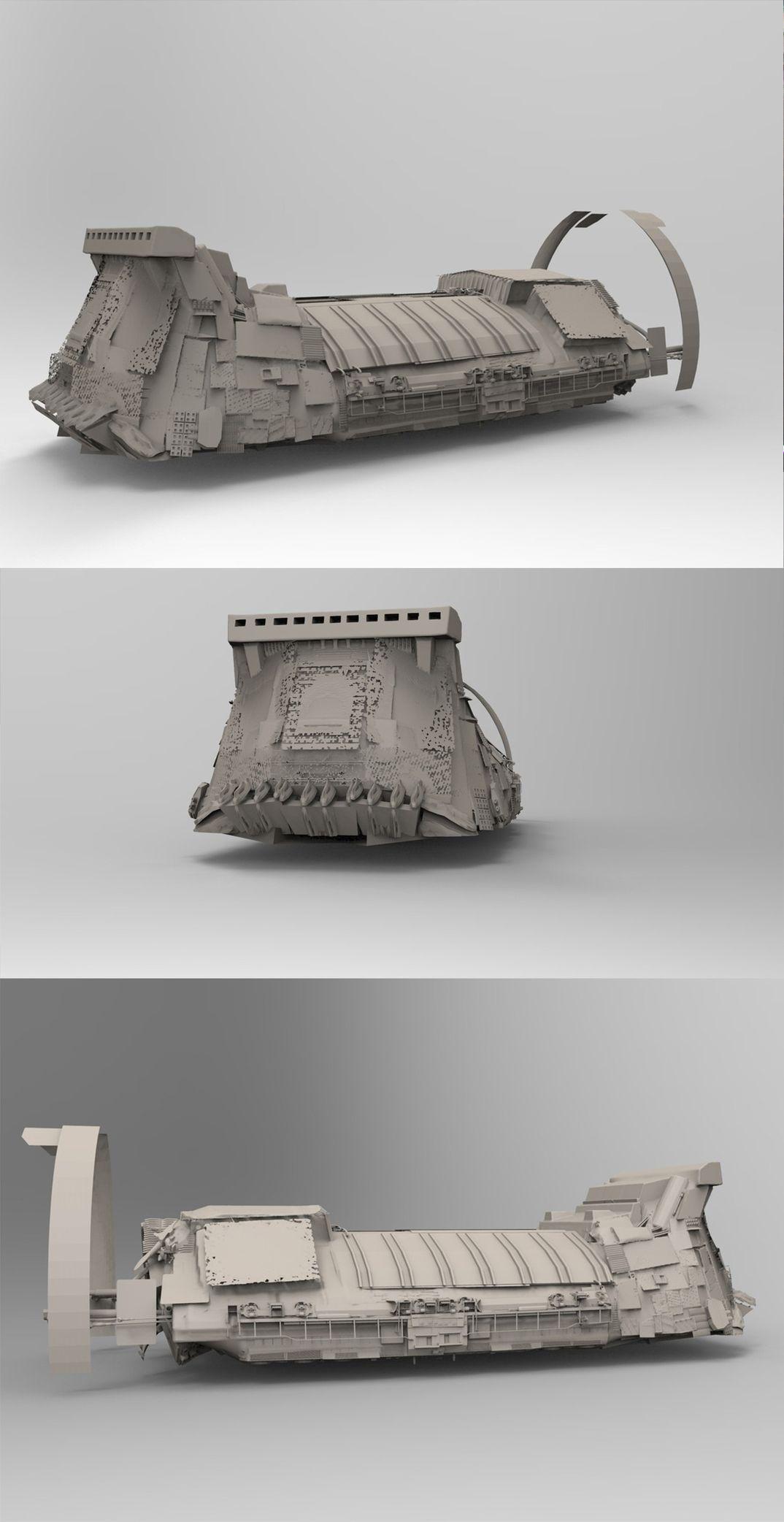 Tatooine's cargo ship