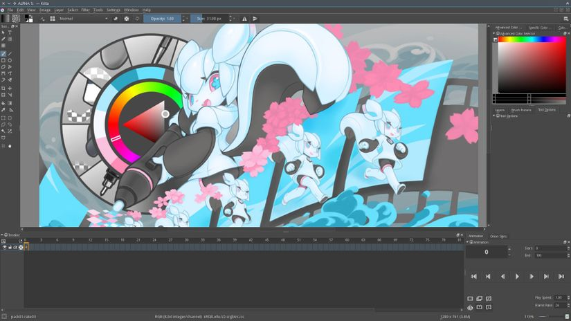 Krita 3.0 - official public alpha - free