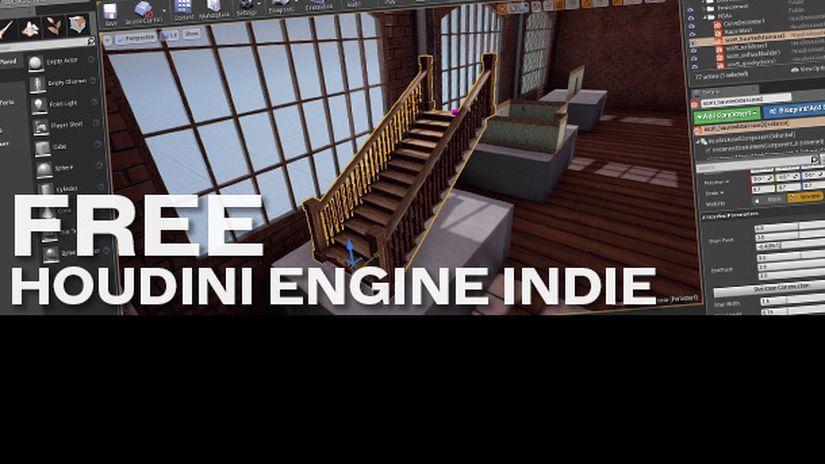 Houdini Engine Indie - Da oggi assolutamente free!
