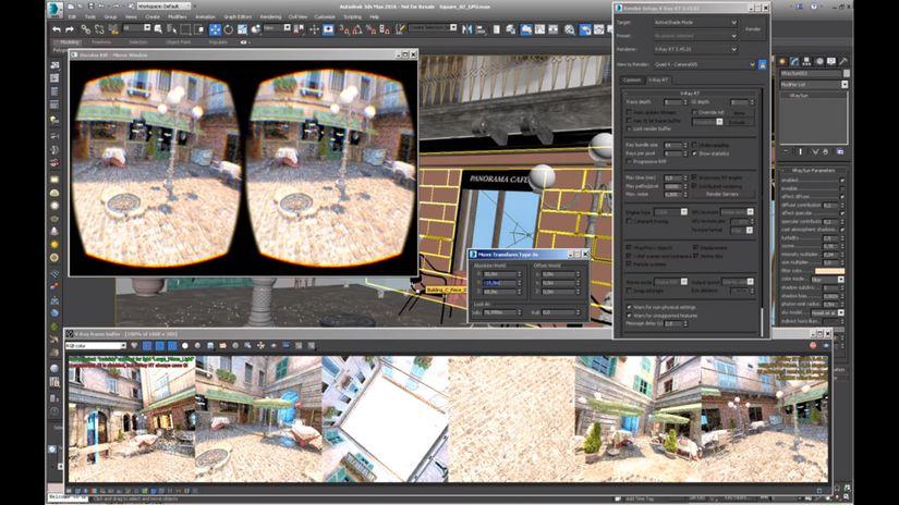 V-Ray RT per Oculus Rift - le anticipazioni di Chaos Group