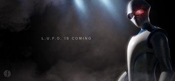 L.U.F.O. - Alien Banner  #LUFO3D