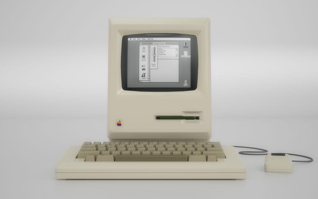 First Macintosh, 1983