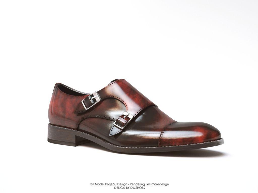 scarpe doppia fibbia uomo