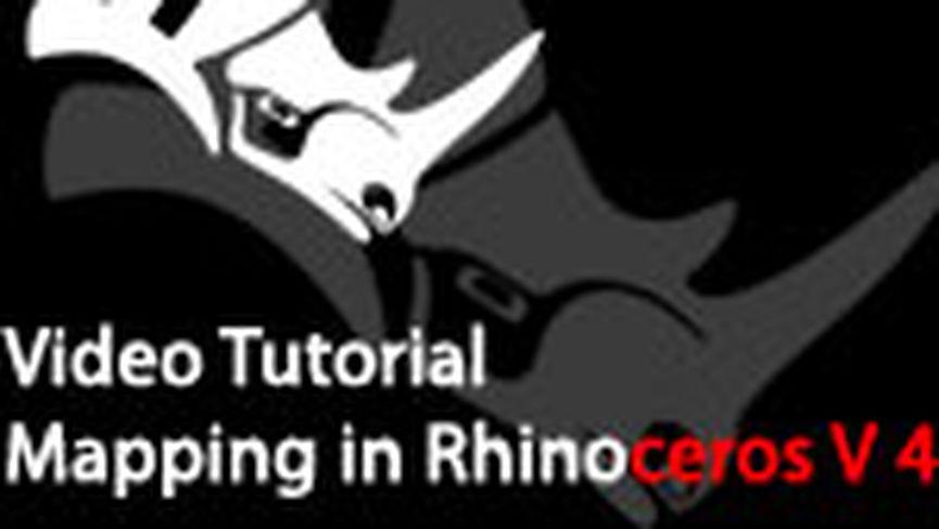 Mapping In Rhinoceros V 4