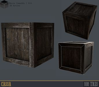 Simply Props Crate for Game