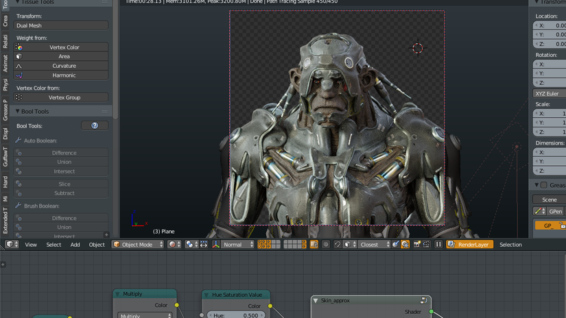 Making Of Runner 4.9 - by Max Puliero