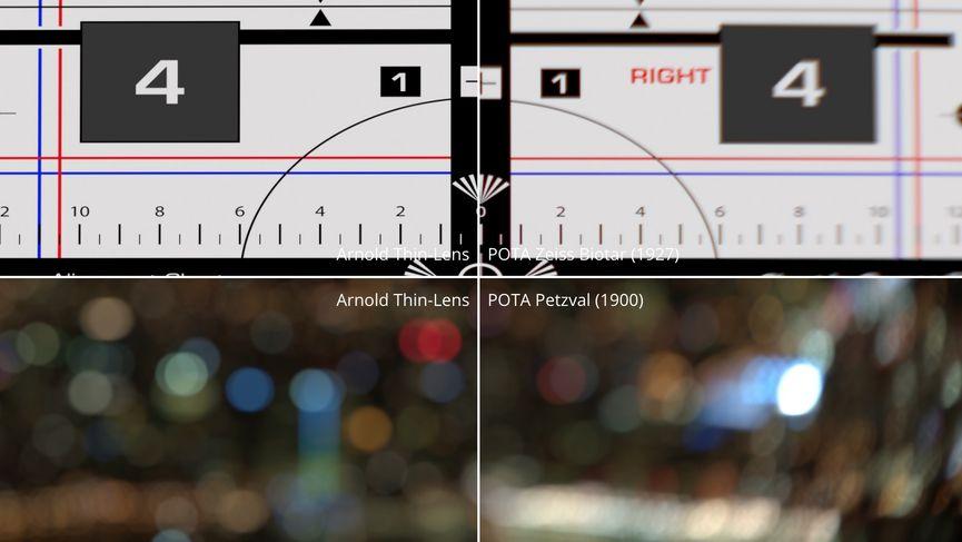 POTA: nuovo open source camera shader per Arnold