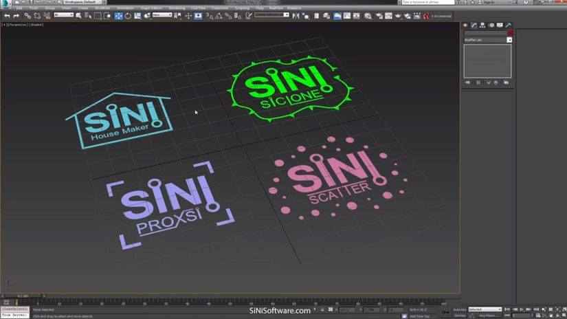 SiNi Software 1.05 per 3ds Max