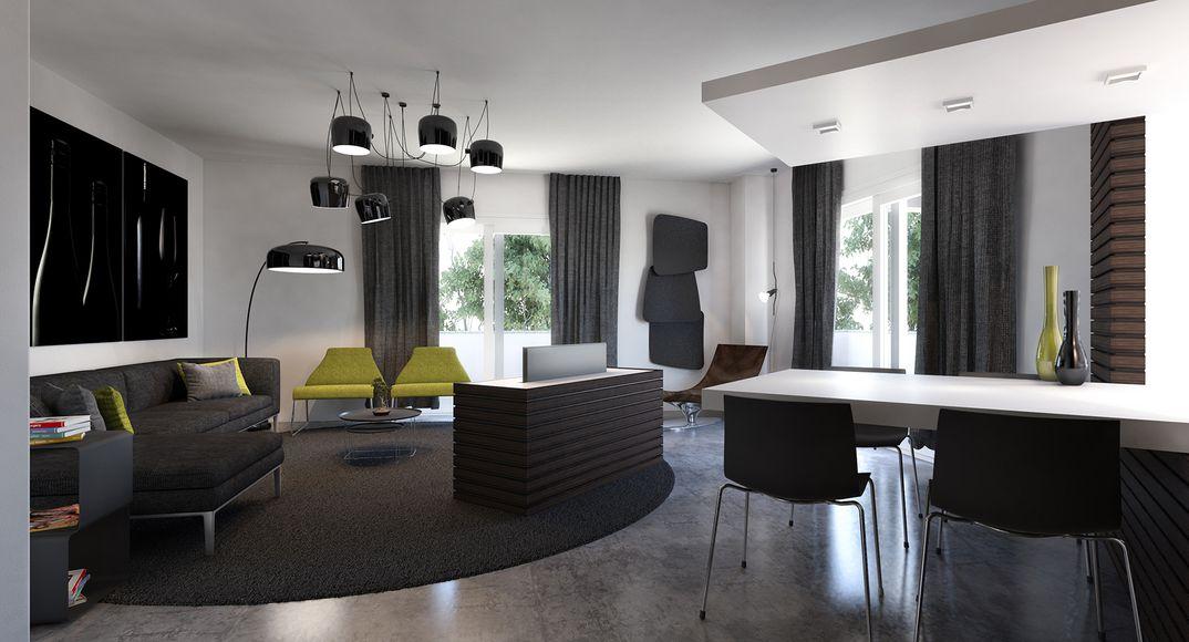 Interior. Olbia (OT), Sardegna, Italia