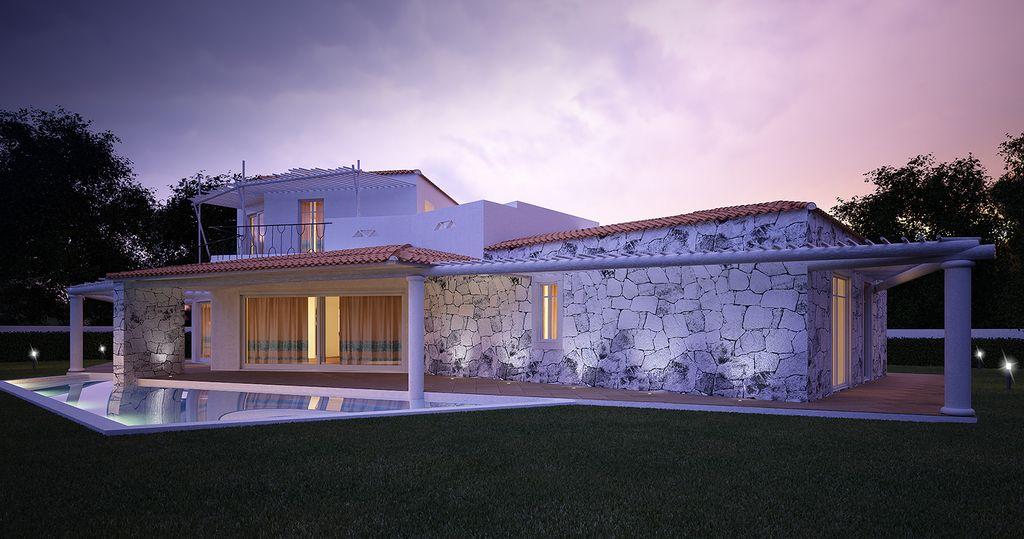 Villa in Costa Smeralda. Porto Pozzo (OT), Sardegna, Italia