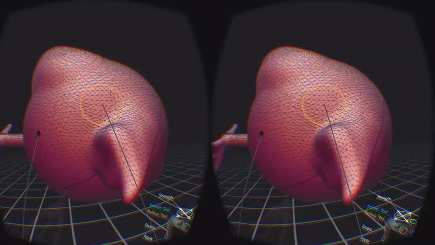VRClay Demo - Sculpting in Virtual Reality demo