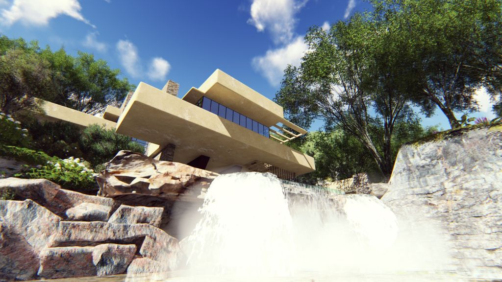 La casa sulla cascata
