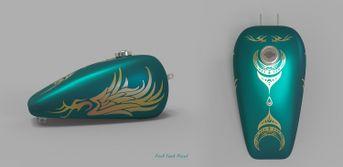 fuel tank paint