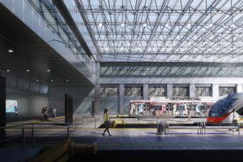 Stazione Montesanto - Silvio D'Ascia Architecture