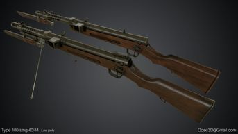 Type 100 SMGs