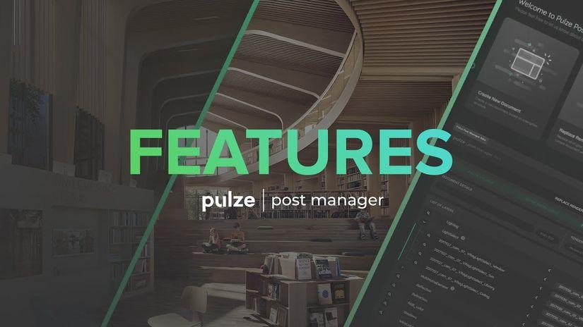 Pulze: render elements più ordinati per V-Ray e Corona