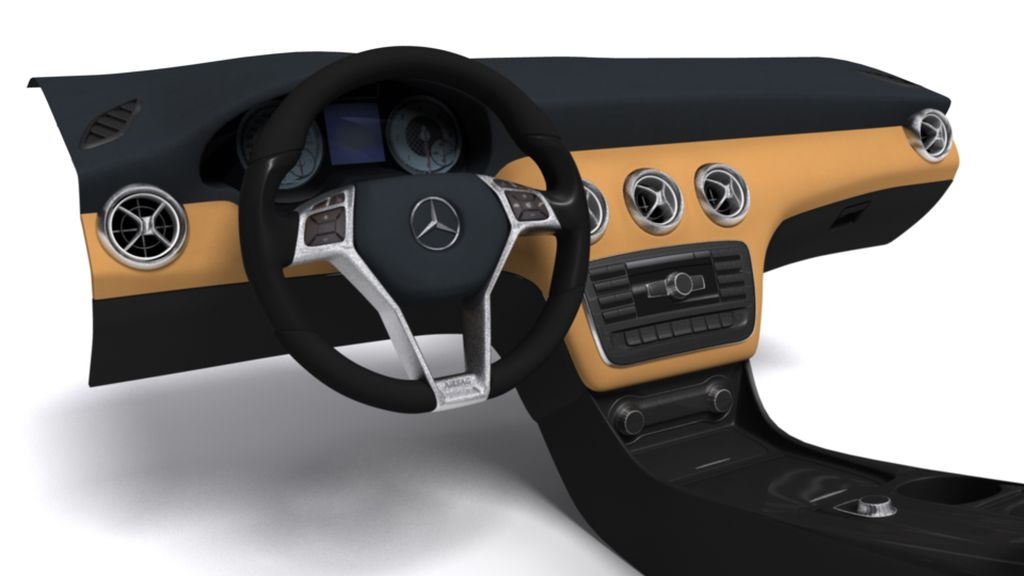 Mercedes A Class dashboard