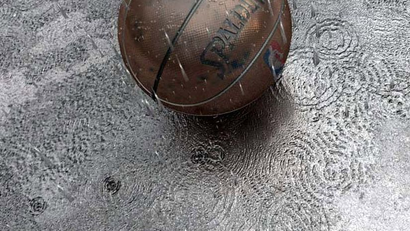 [rhino+max] Basketball And Rain - Tutorial 2