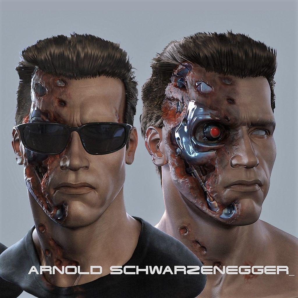 Arnold Schwarzenegger Terminator & Conan