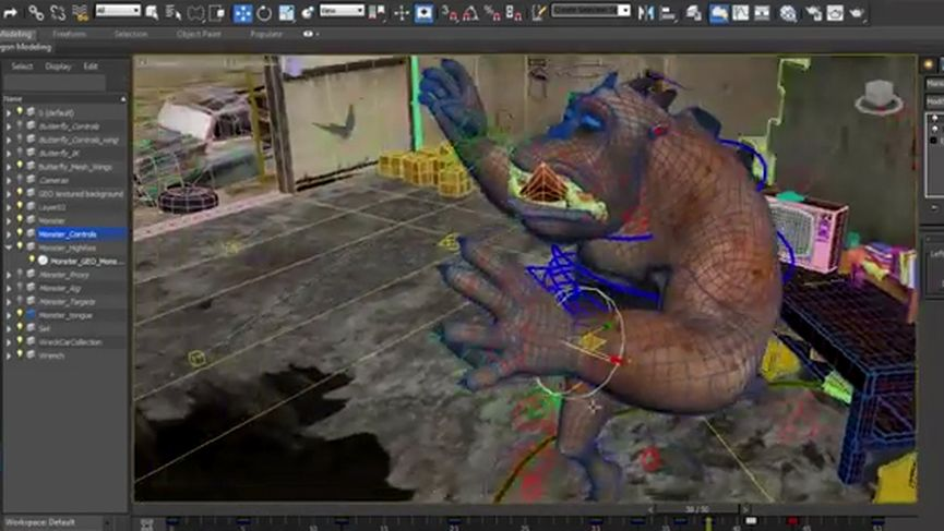 3DS Max 2015 Extension 2