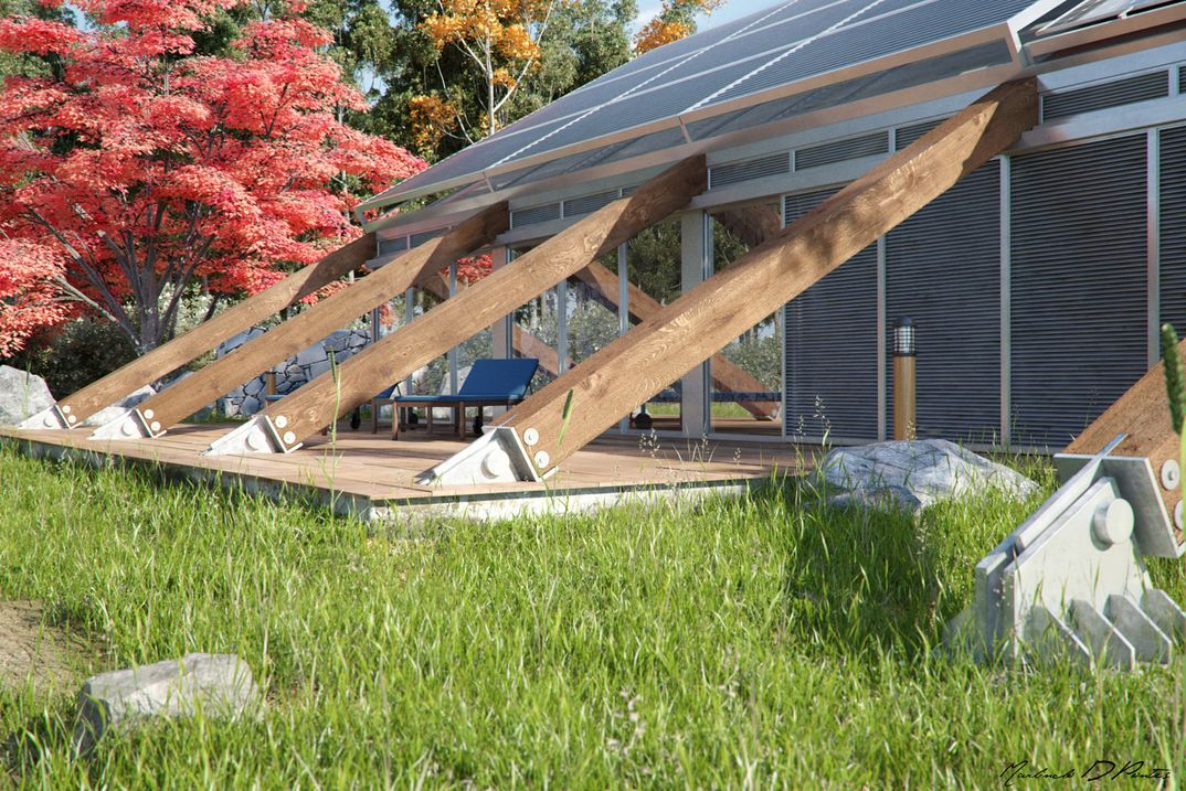 House in Bioclimatic