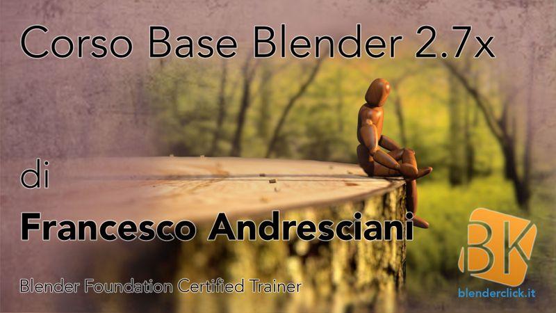 Blender Corso Base - Lezione 1: L'interfaccia grafica