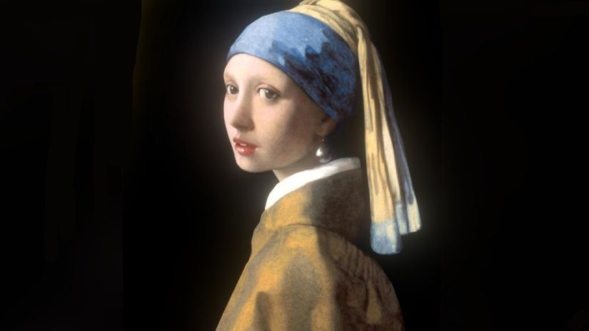 Il capolavoro di Vermeer prende forma in 3D