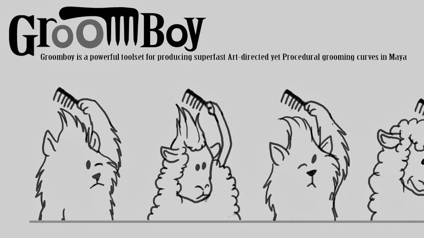 Open Beta for Groomboy hair