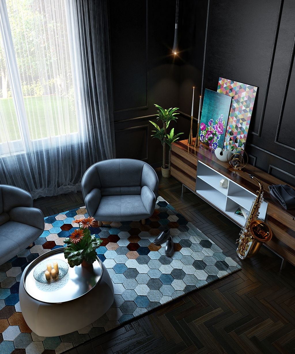 Brilliant colors room