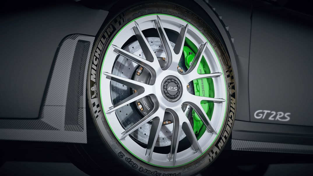 Porsche GT2 RS - wheels
