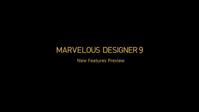 Marvelous Designer 9 - Nuove Feature