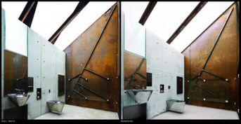 Photo vs Render: Reststop Akkarvikodden / Manthey Kula Architects
