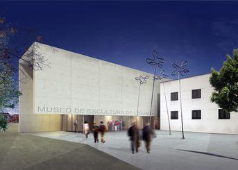 Museo delle sculture a Leganes