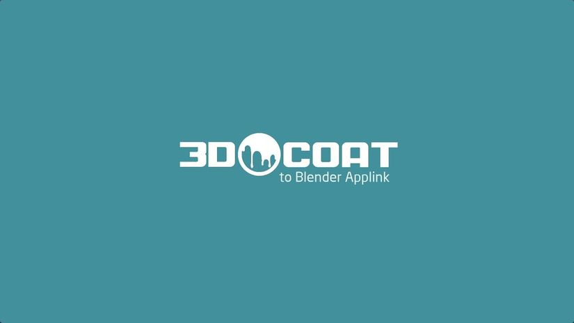 3DCoat Applink Connection per Blender 2.8