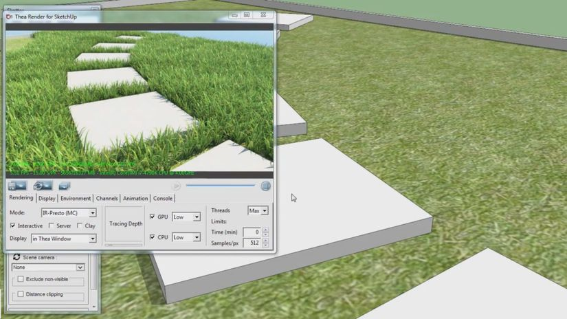 Skatter per SketchUp - disponibile la demo