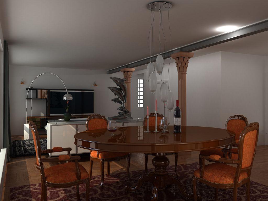 Nuovo layout soggiorno