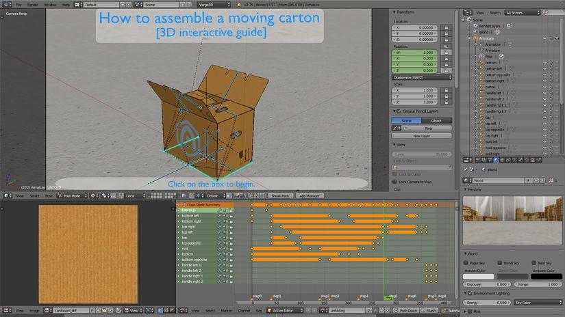 Verge3D 1.0. Il nuovo framework 3D WebGL per Blender