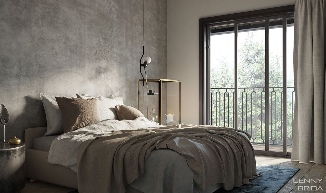 chalet- bedroom