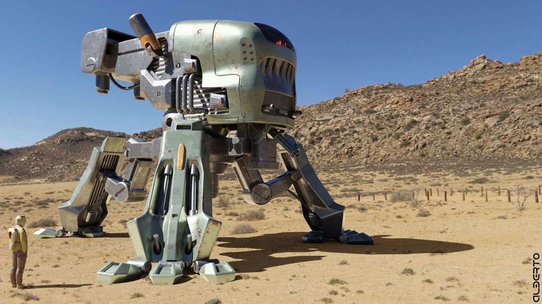COMBAT MECH desert version