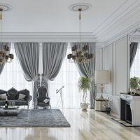 soggiorno neoclassico