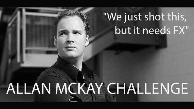 Challenge Allan McKay: scegli la tua avventura VFX
