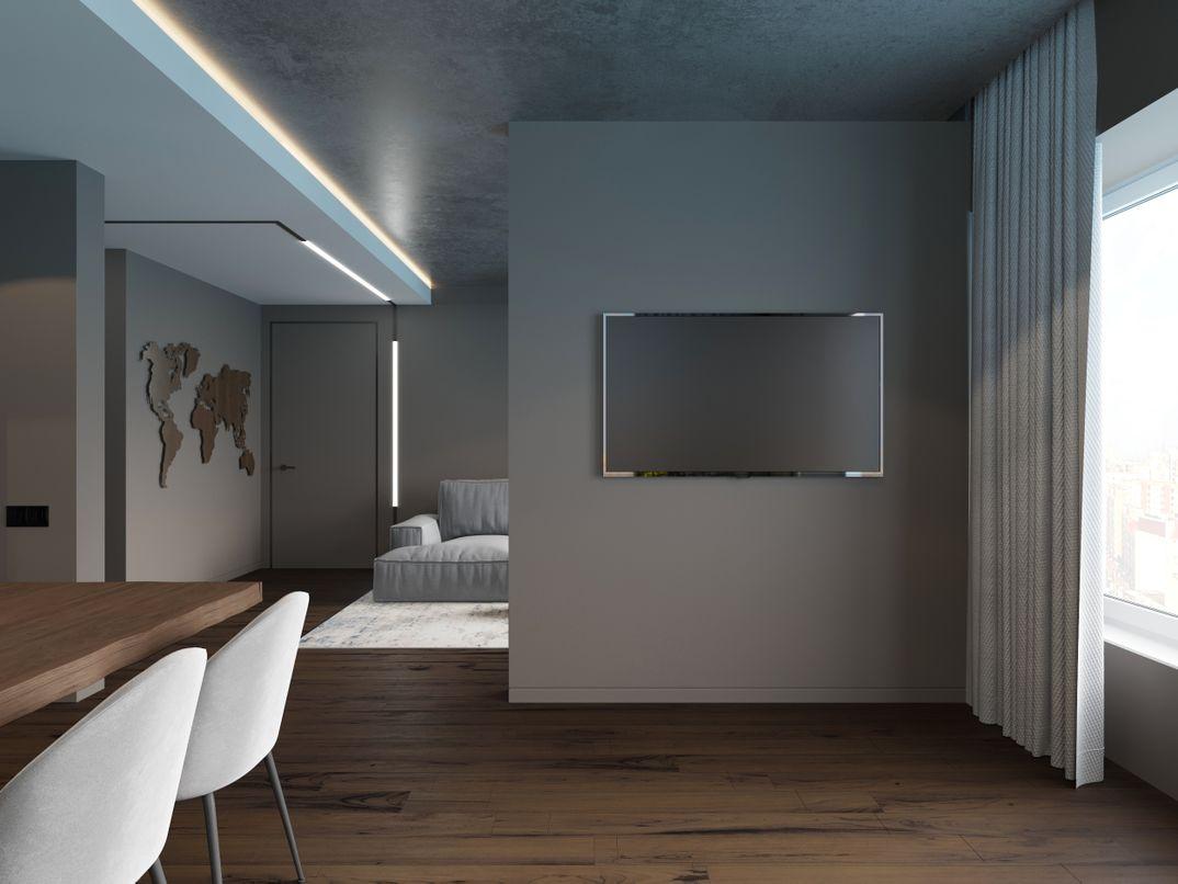Kitchen-livingroom