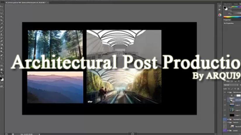 Architectural Post Production: Compositing and Depth