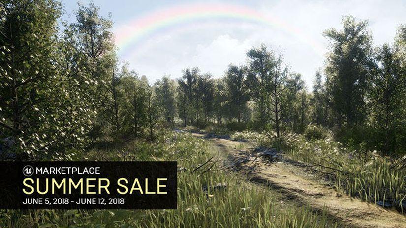 Sconti fino al 90% sull'Unreal Engine Marketplace