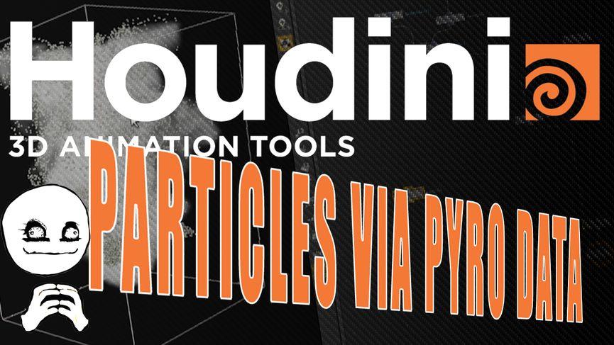 Tutorial SideFX Houdini - Drive Particles con una simulazione PyroFX