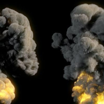 Houdini RnD: Pyro Large Explosion v1