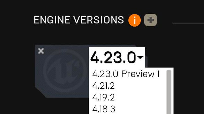 Unreal Engine 4.23 Preview 1